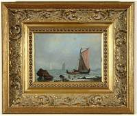 1124 CHARLES HENRY GIFFORD B1839 Painting New Bedford