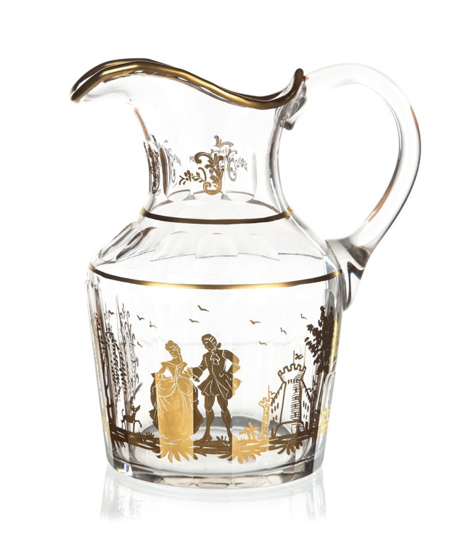 A SET OF TWO DECANTERS AND A PITCHER, AFTER A POTEMKIN - 2