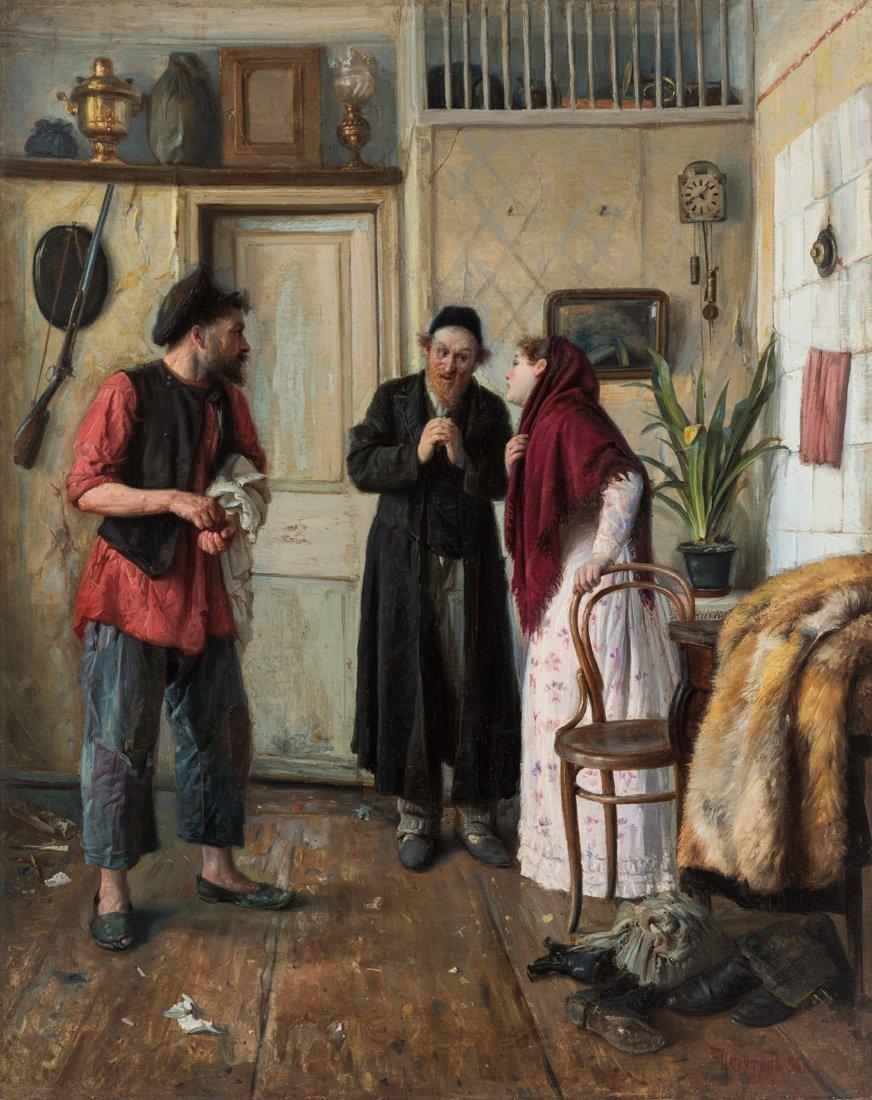 MIKHAIL EMILIANOVICH VATUTIN (RUSSIAN 1860-1930)