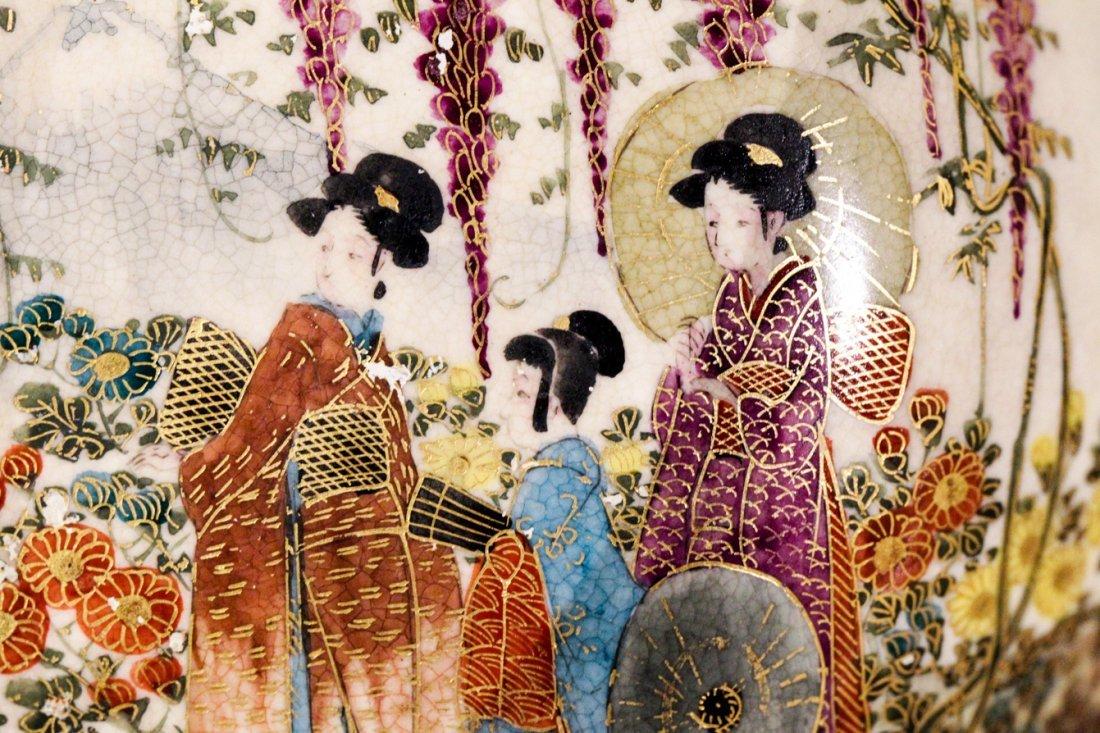 JAPANESE SATSUMA BOWL MEIJI PERIOD - 3