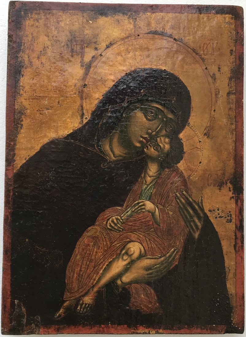 Greek Icon Mother of God