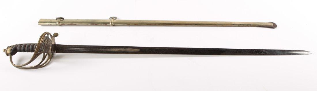 HIGH RANKING OFFICER SWORD VENEZUELA 1811 CARACAS