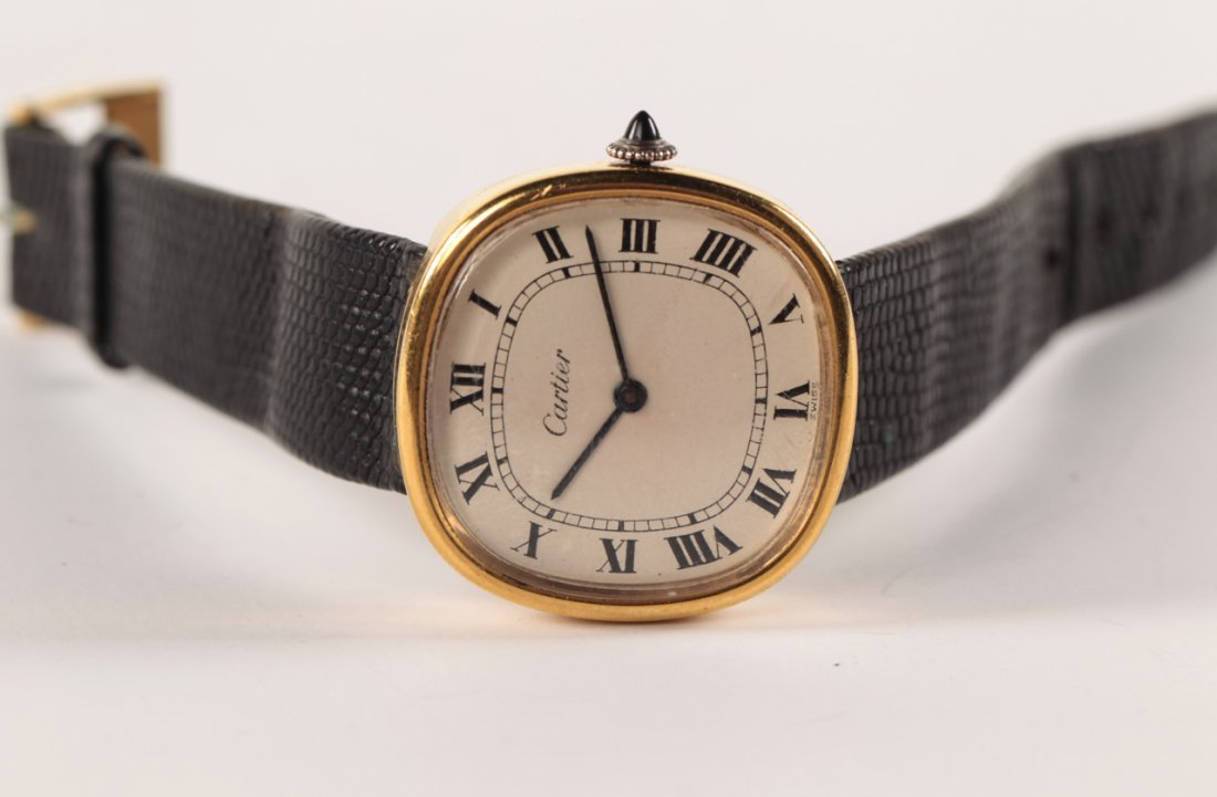 Vintage Cartier Gold plated