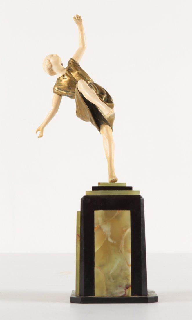 Art Deco  bronze Statue Dimitri CHIPARUS Style?