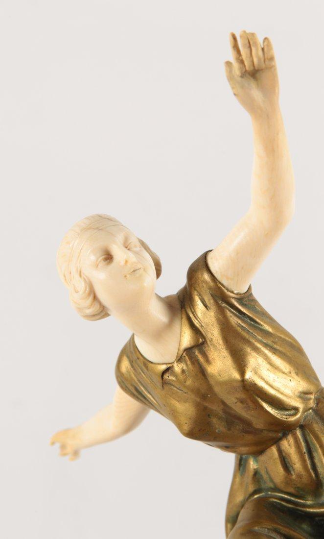 Art Deco  bronze Statue Dimitri CHIPARUS Style? - 2