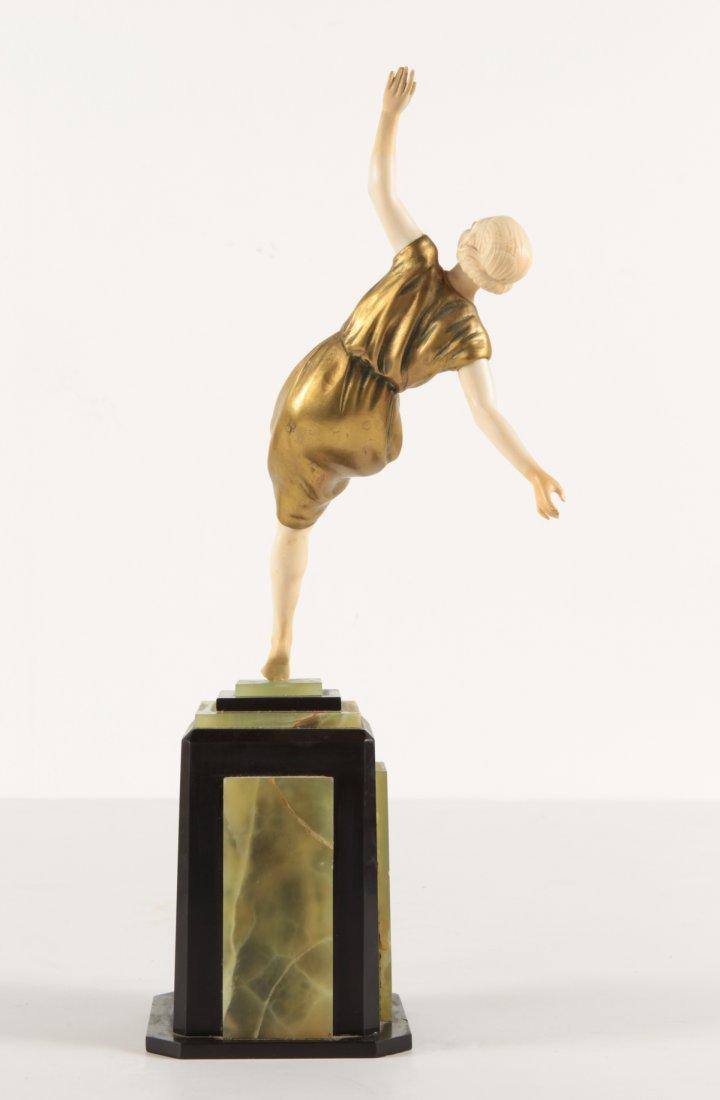 Art Deco  bronze Statue Dimitri CHIPARUS Style? - 3