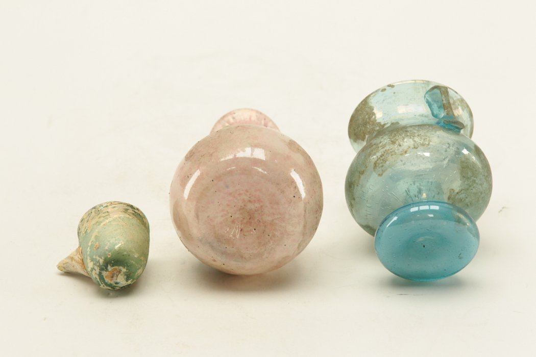 Roman Glass 3 pieces - 5