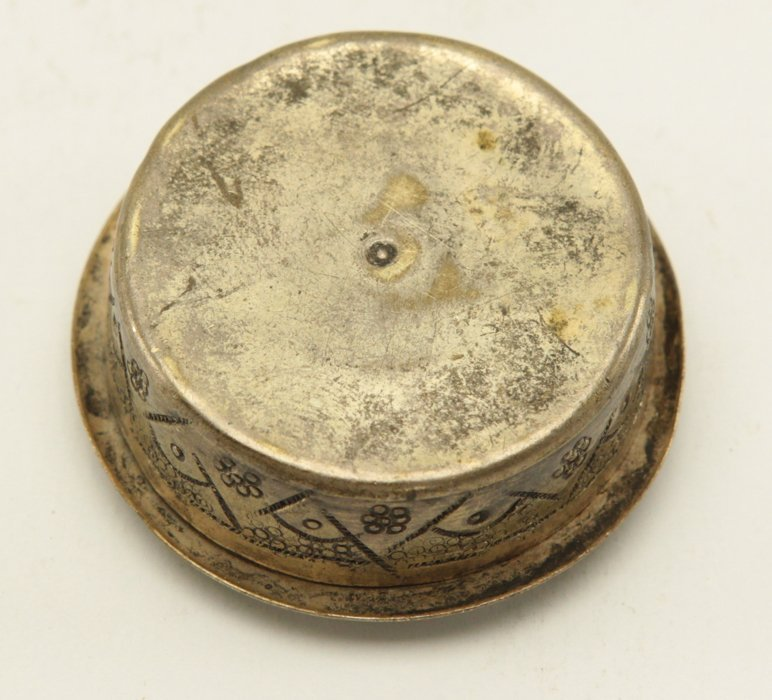 Metal Persian Vanity Compact Case - 4