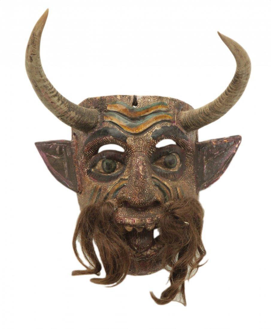 Hand Made Wood Mask
