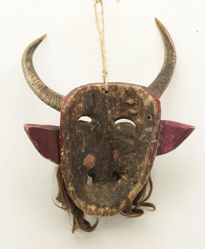 Hand Made Wood Mask - 2