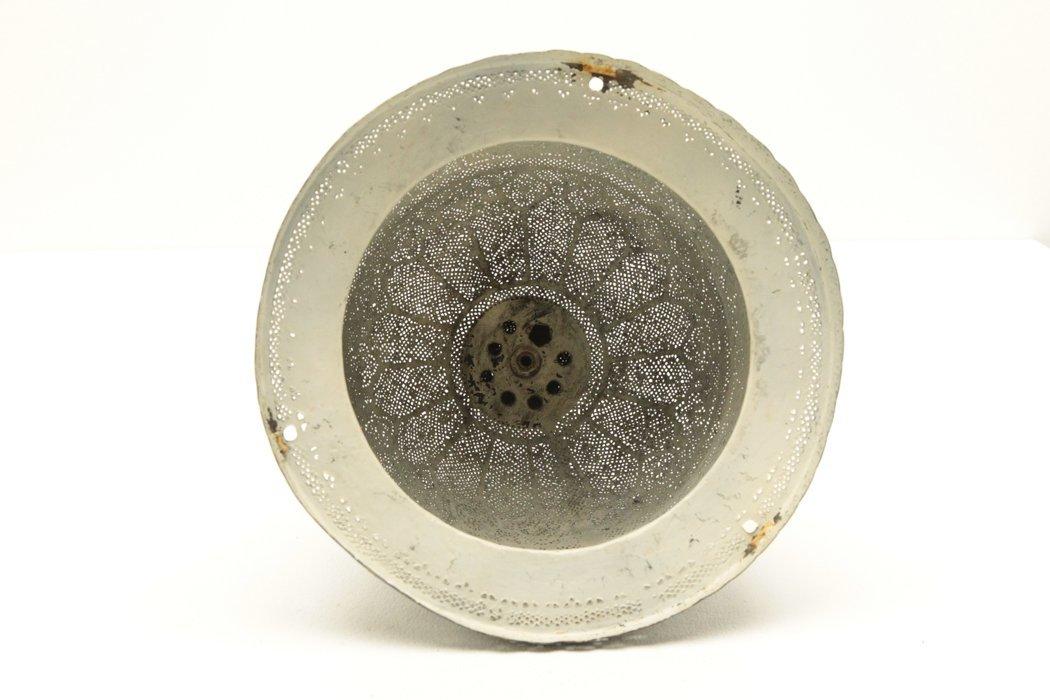 Islamic Tint Brass Mosque Lamp w/Calligraphy - 9