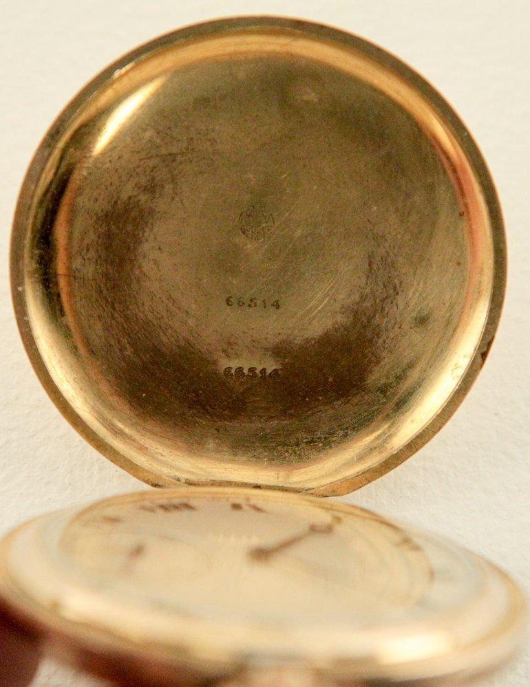 Movado Pocket Watch w/Roman Numerals - 2