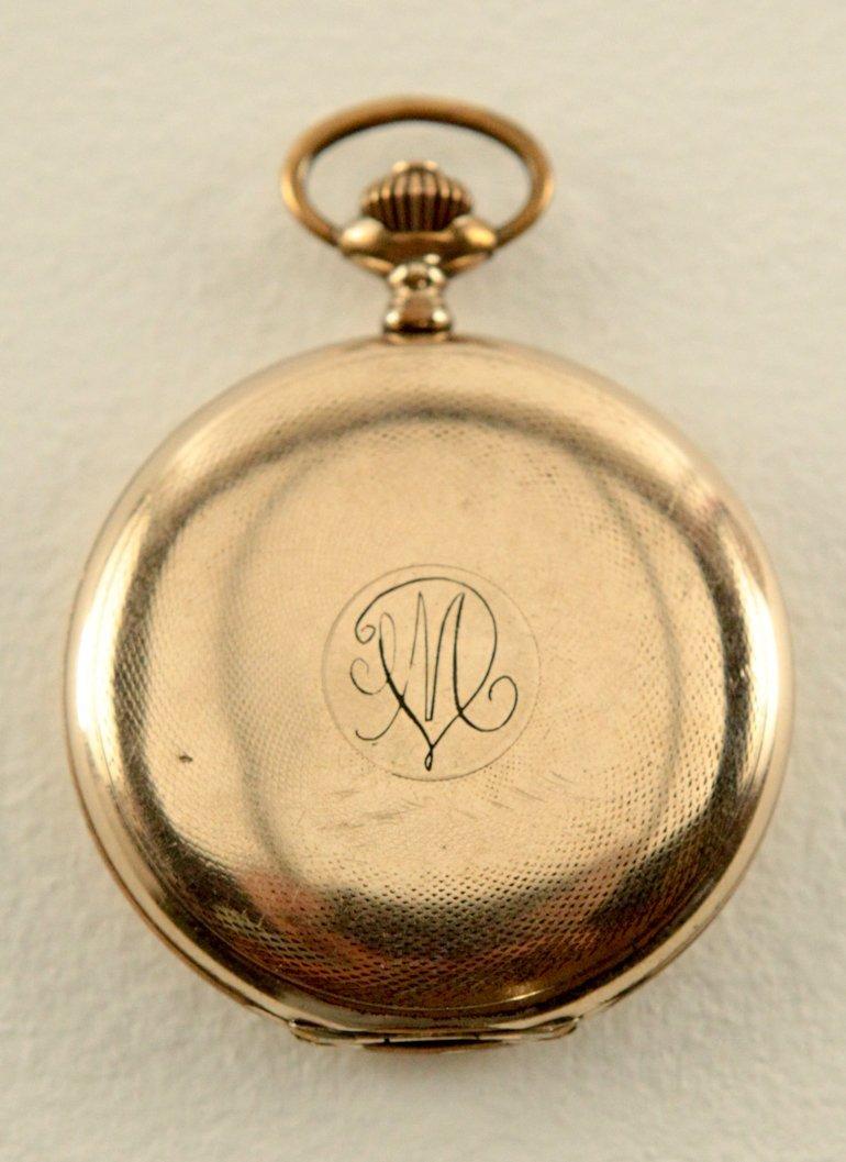 Movado Pocket Watch w/Roman Numerals - 3