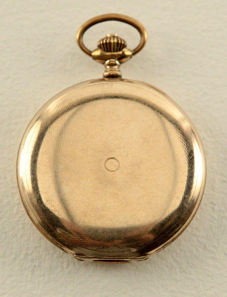 Movado Pocket Watch w/Roman Numerals - 4
