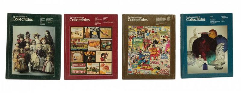 4 Hardcover Books The Encyclopedia of Collectibles