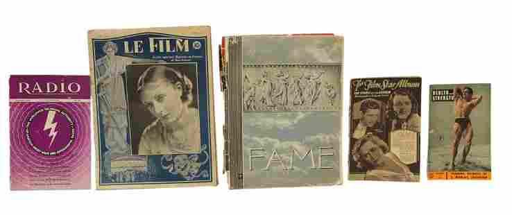 Five Antique Magazines