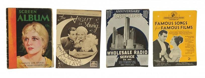 Four Antique Magazines