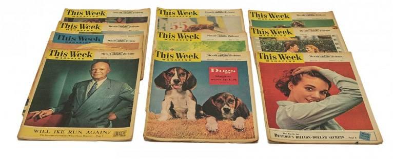10 Vintage This Week Magazines