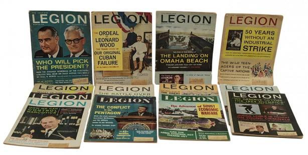 Vintage American Legion Magazine 12 Issues