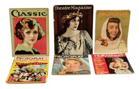 Lot of 6 Vintage Magazines