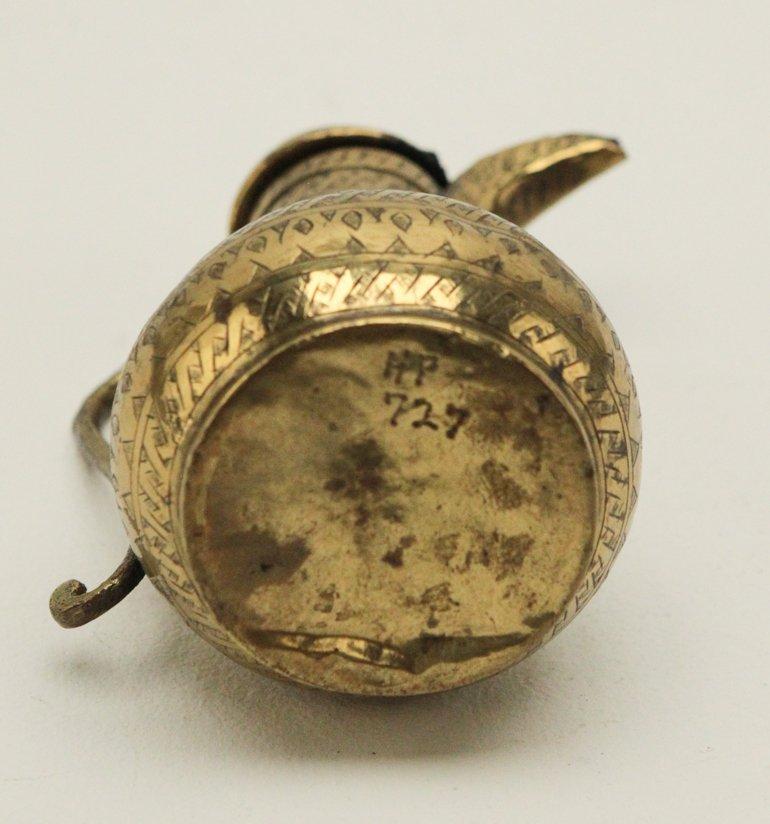 Turkish Brass Coffee Pot Engraved - 3