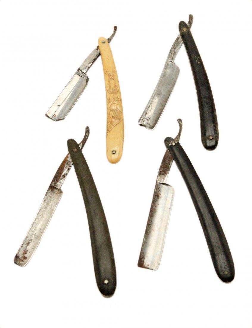 Antique Straight Shaving Razors