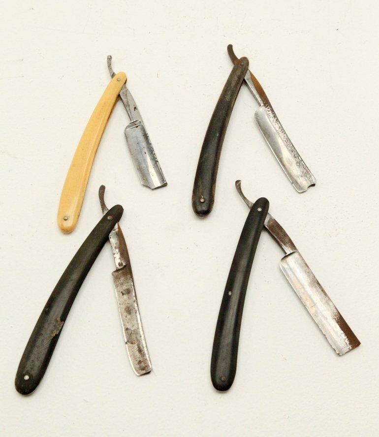 Antique Straight Shaving Razors - 2