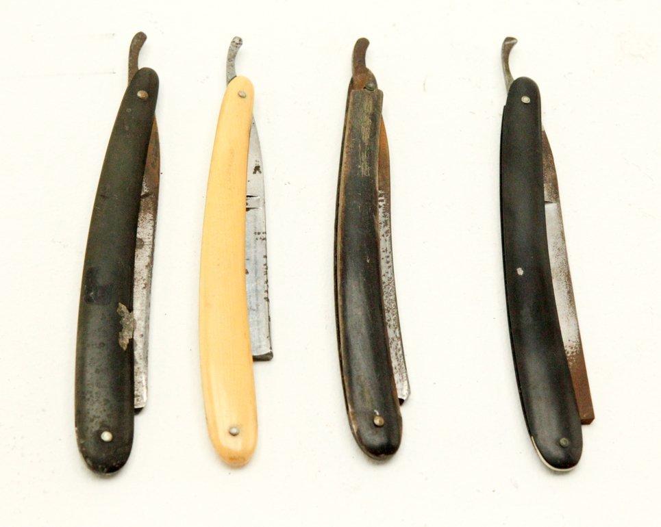 Antique Straight Shaving Razors - 3