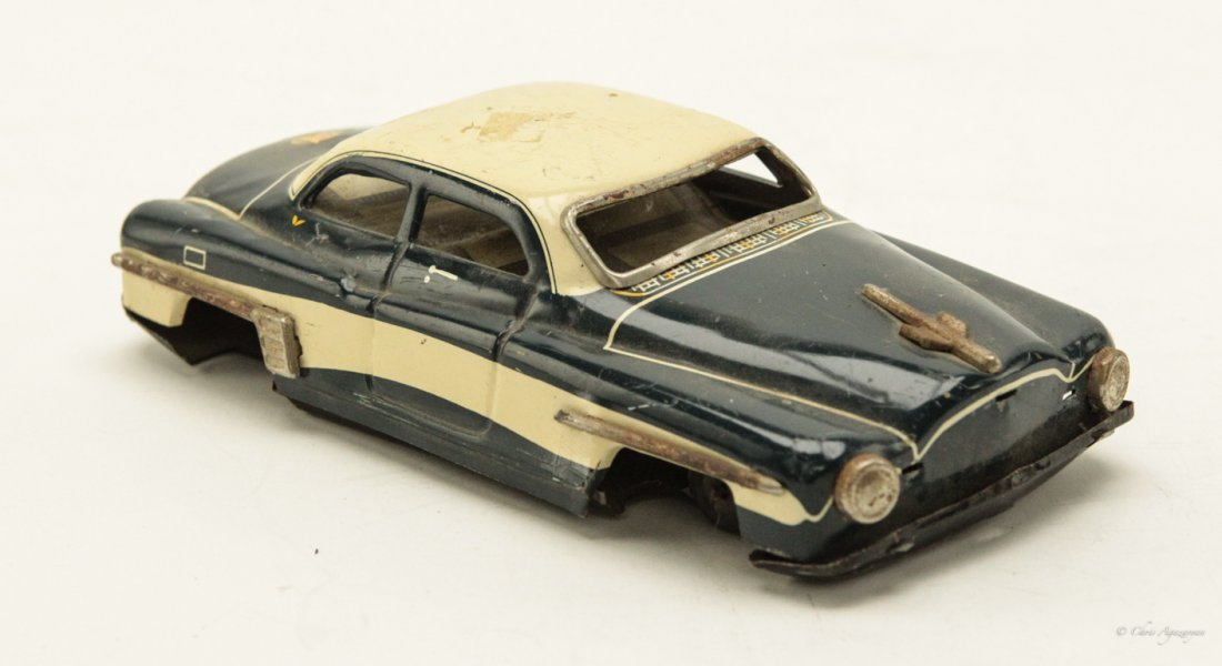 Vintage Tin Toy Car - 2