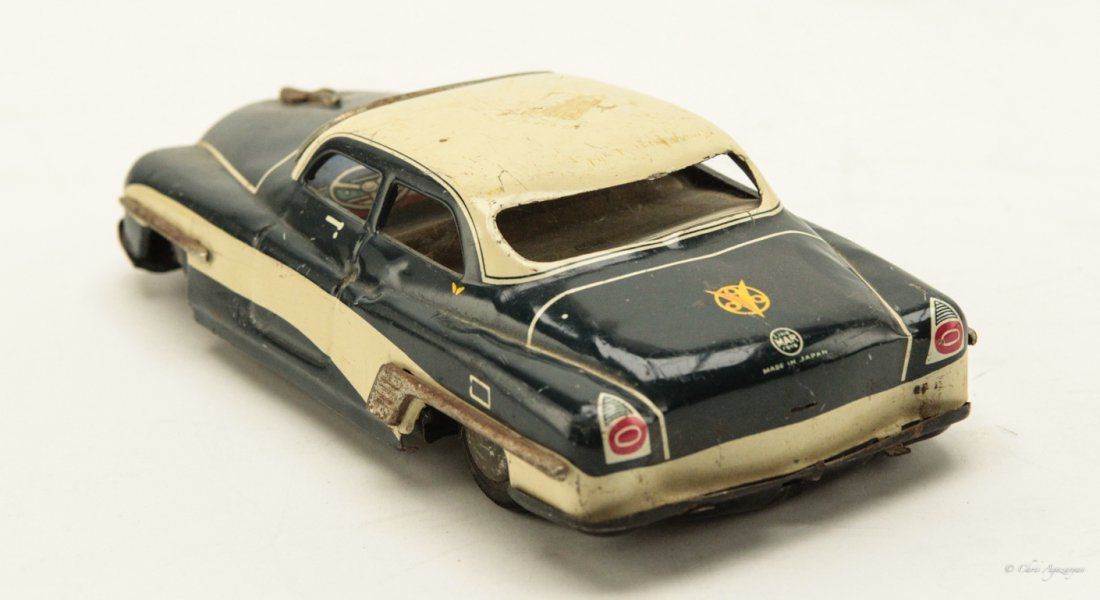 Vintage Tin Toy Car - 3