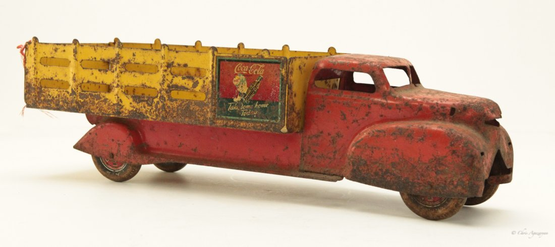 Vintage Tin Toy Truck - 2