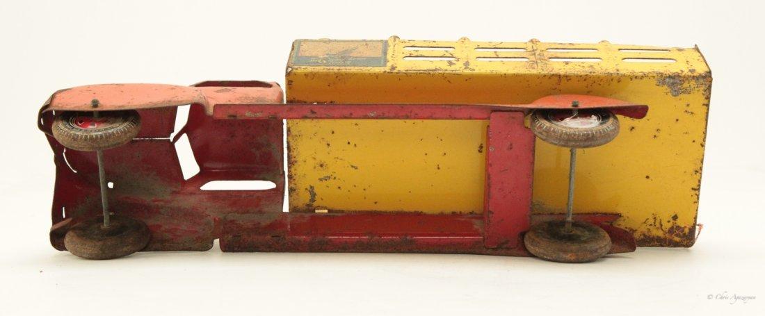 Vintage Tin Toy Truck - 4