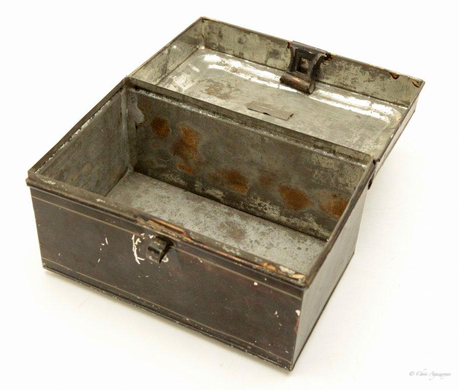 Vintage Tin Metal Box - 3