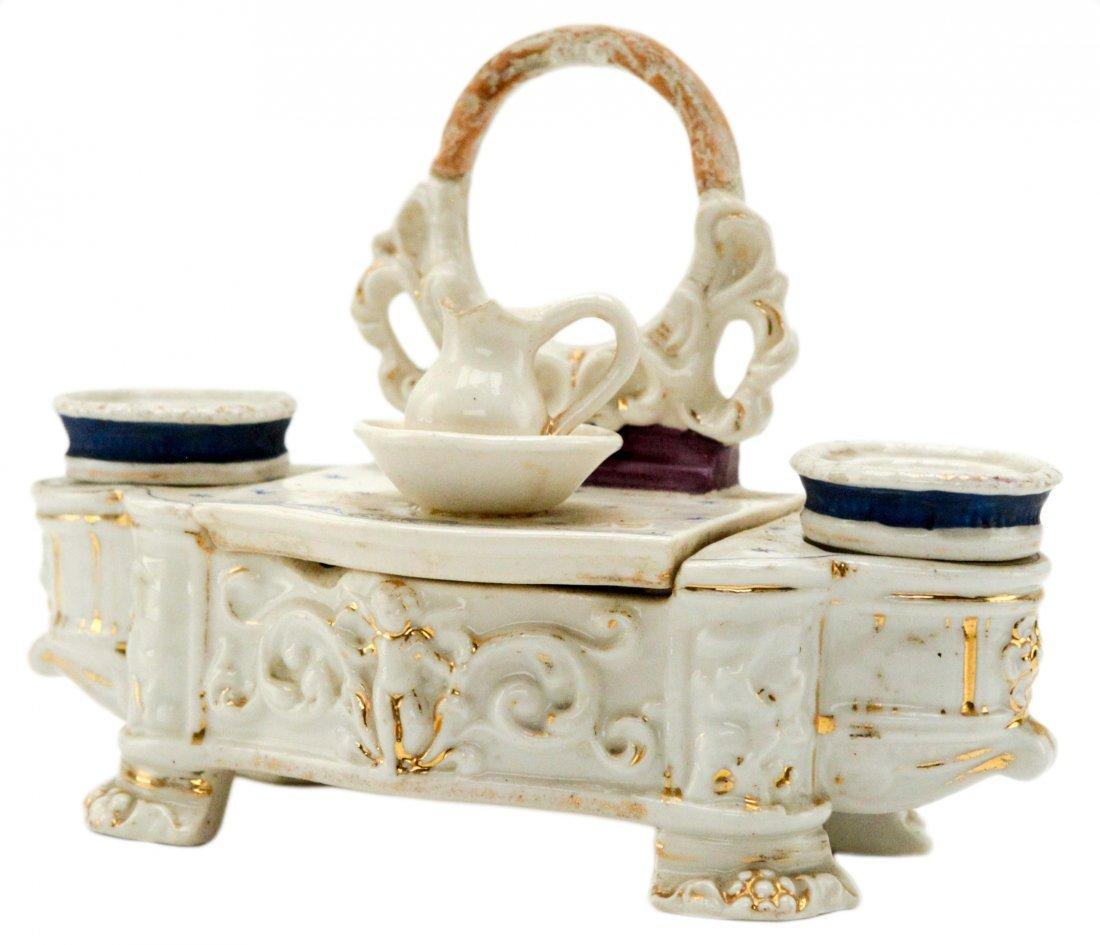 Vintage Porcelain Salt and Pepper Shaker