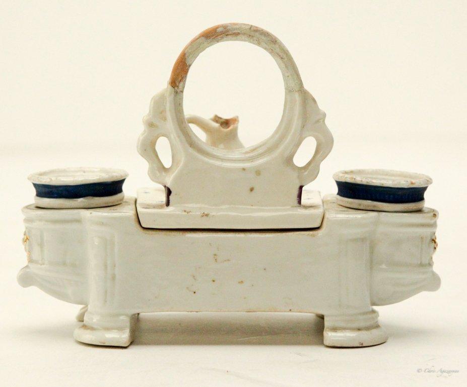 Vintage Porcelain Salt and Pepper Shaker - 3