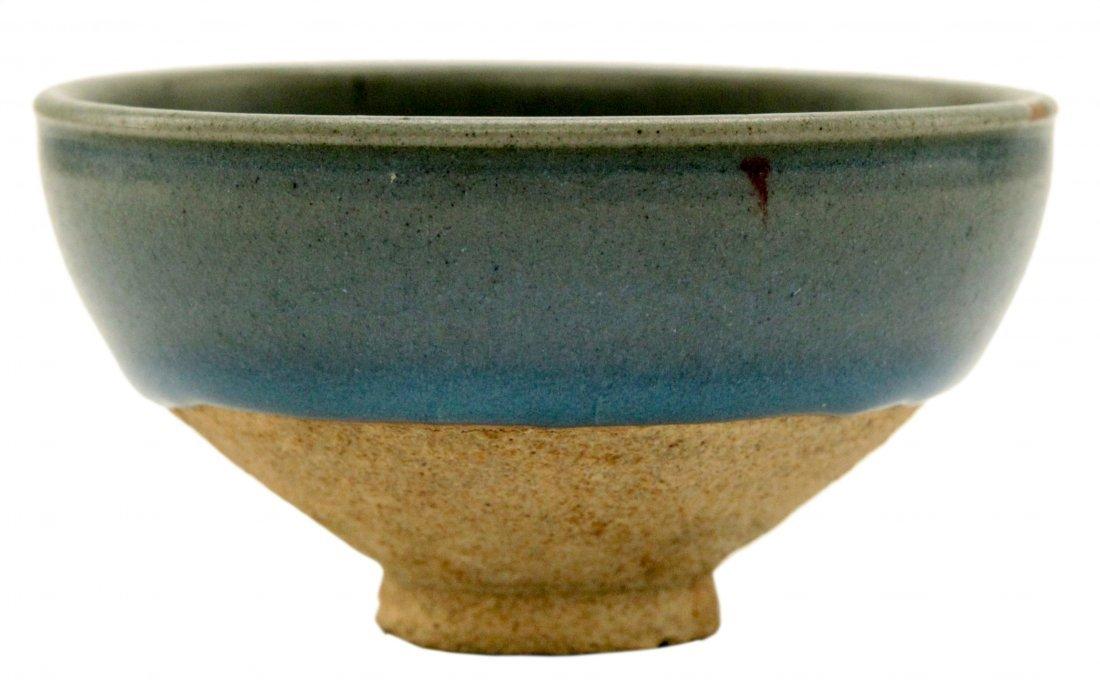 Chinese Jun Splash Glaze Bowl