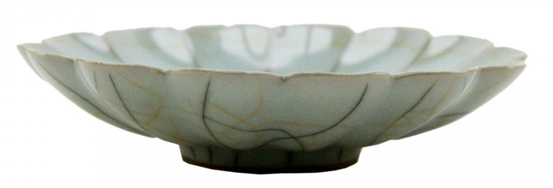 Chinese Guan type lotus bowl