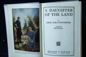 1918 A Daughter Of The Land, Hardcover Book