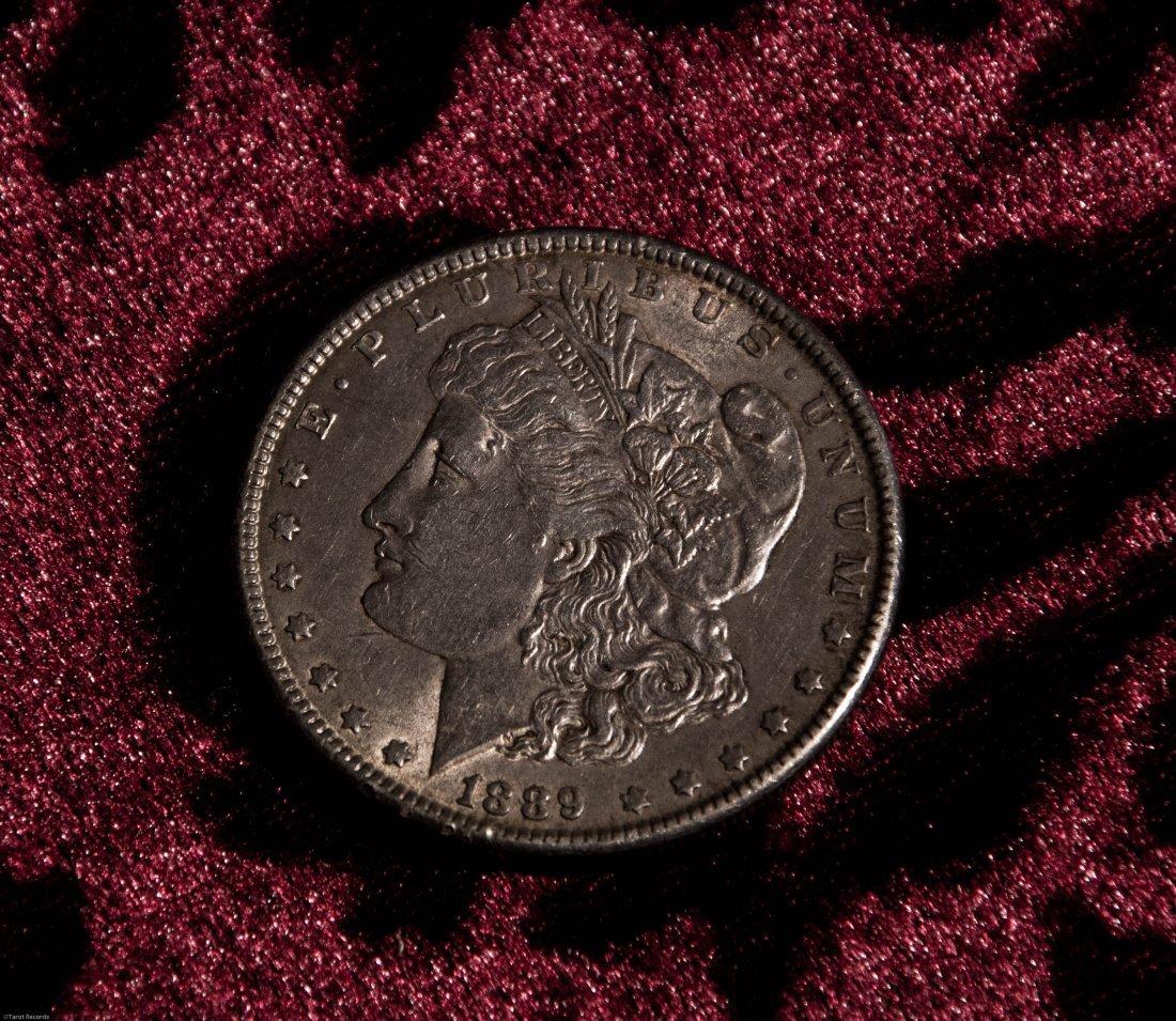 1889 Silver Morgan Dollar US Coin