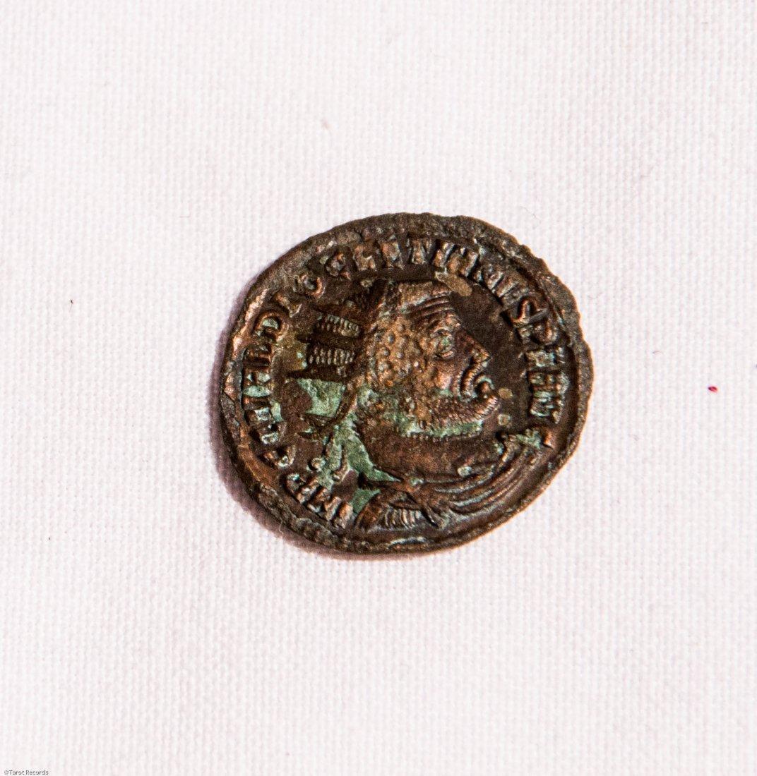 Diocletian AE .Heraclea, CONCORDIA Roman coin