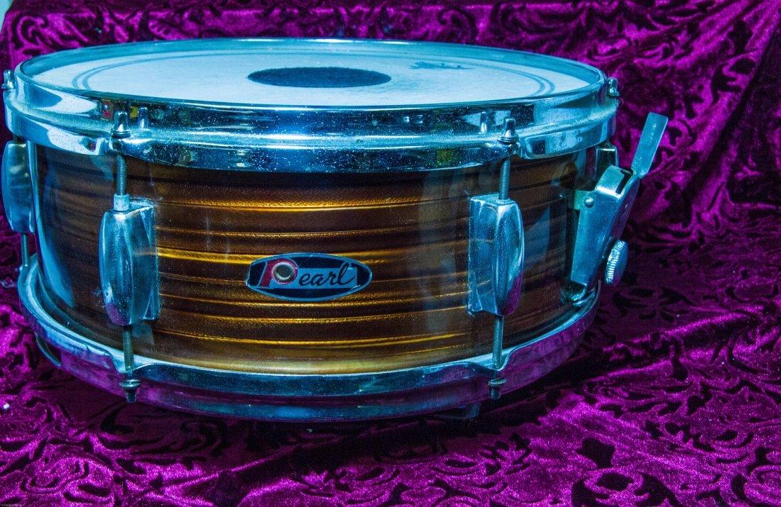 Vintage 1950's Pearl Snare Drum