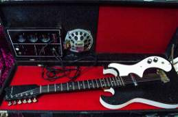 Vintage 1960's Silvertone Model 1448 Guitar & Amp