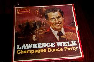 Lawrence Welk Champagne Dance Party - 8 lps Box Set 33