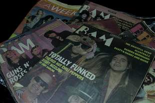 Lot of 10 Vintage Magazines BAM & LA Weekly early 80's