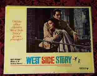1968 Original West Side Story Lobby Card #68/267