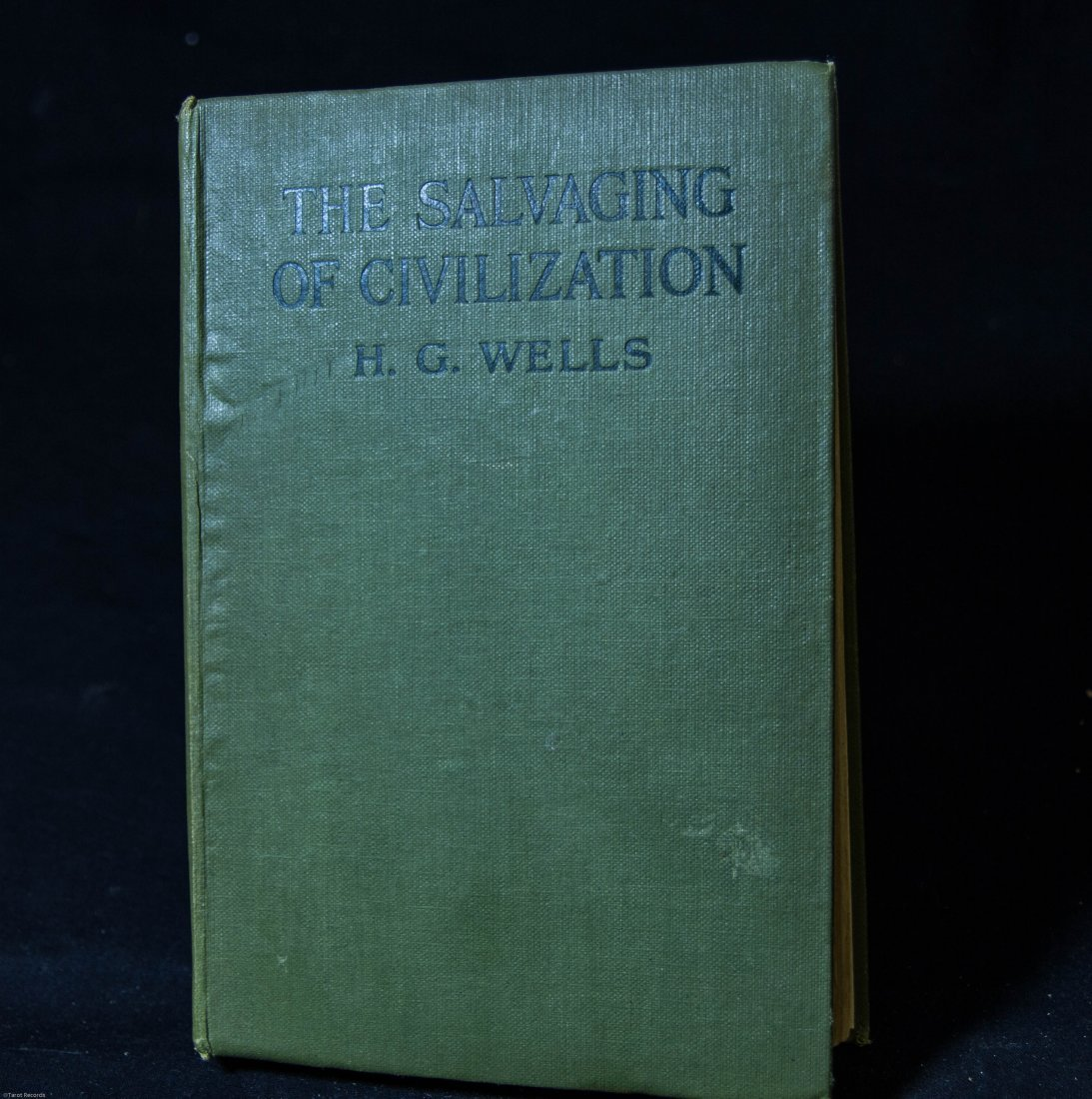 """1921 H G Wells """"The Salvaging of Civilization""""Hardcover"""