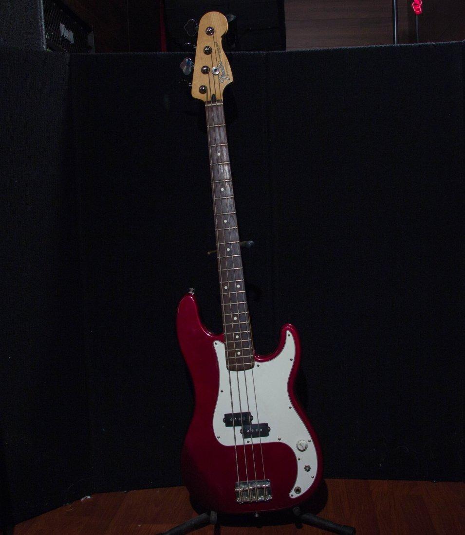 1999 Fender Precision Bass Burgundy