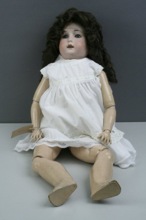 2: A WG Goebel bisque doll, 26in.