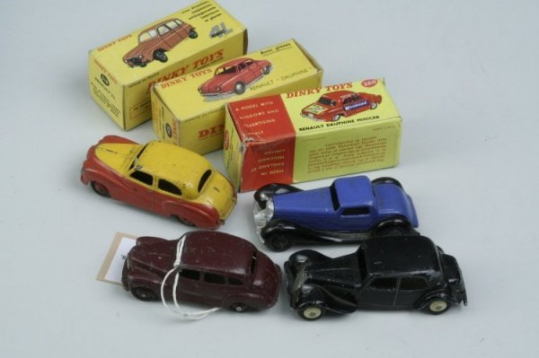 18: French Dinky Toys, fair-good