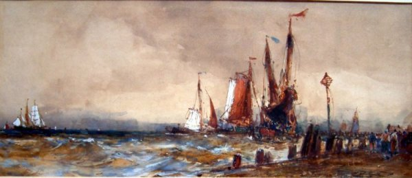 1963: Frank H. Mason (1876-1965) At Sukheizen, 6.5 x 15
